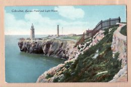 Eus026 GIBRALTAR Europa Point And Light-House Faro Phare 1915s ¤ Litho Color MILLAR LANG N°15 - Gibraltar