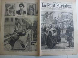 Journal Le Petit Parisien 438 27 Juin 1897 Lord Maire De Londres Reine D'Angleterre Bulgarie Boitschef Assassinat - Journaux - Quotidiens