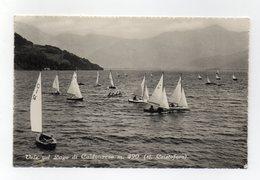 San Cristoforo (Trento) - Vele Sul Lago Di Caldonazzo -Viaggiata Nel 1953 - (FDC14194) - Trento