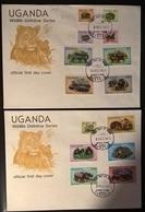 UGANDA 1979 ANIMALI - Uganda (1962-...)