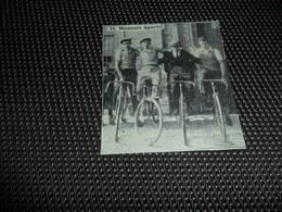 """Origineel Knipsel ( 2381 ) Uit Tijdschrift """" Ons Volk """"  1936  :  Veloclub  Velo  Fiets  Renner  Coureur  Meesen  Mesen - Documentos Antiguos"""