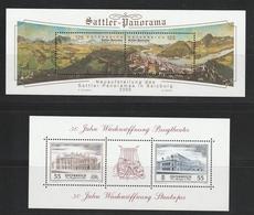 Block Mi. Nr. 30 Und 31  Postfrisch, Unter Postpreis - Auch Billige Frankaturware - Blocks & Kleinbögen