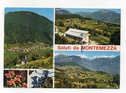 Cinte Tesino (Trento) - Saluti Da Montemezza - Viaggiata Nel 1982 - (FDC14196) - Trento