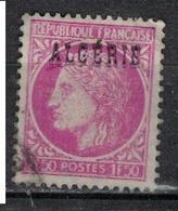 ALGERIE        N°  YVERT    229     ( 2 )        OBLITERE       ( O   2/42) - Algérie (1924-1962)