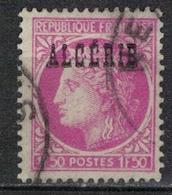 ALGERIE        N°  YVERT    229     ( 3 )        OBLITERE       ( O   2/42) - Algérie (1924-1962)