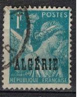 ALGERIE        N°  YVERT    231       OBLITERE       ( O   2/42) - Algérie (1924-1962)