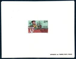 FR EDL 1984  Épreuve De Luxe  Du N°YT 2307  Jacques Cartier . 1er Voyage Au Canada - Epreuves De Luxe