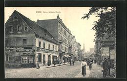 AK Lissa / Leszno, Leute Und Geschäfte In Der Kaiser Wilhelm-Strasse - Posen