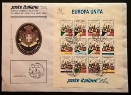 POSTE ITALIANE EUROPA UNITA - 6. 1946-.. Repubblica