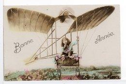 CPA - FILLETTE - BONNE ANNÉE - Scènes & Paysages