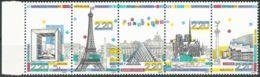 FRANKREICH 1989 Mi-Nr. 2710/14 ** MNH - Frankreich