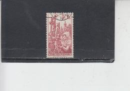 CECOSLOVACCHIA  1956-  Yvert 871 - Uva - Frutta
