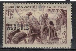 ALGERIE        N°  YVERT    242    ( Chiffres Effacés)   OBLITERE       ( O   2/43 ) - Algérie (1924-1962)