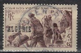 ALGERIE        N°  YVERT    242 (1)   ( Impression Defectueuse)   OBLITERE       ( O   2/43 ) - Algérie (1924-1962)