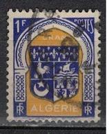 ALGERIE        N°  YVERT    256    ( 1 )          OBLITERE       ( O   2/43 ) - Algérie (1924-1962)