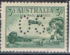 DO 7421  AUSTRALIË SCHARNIER  YVERT NR DIENST LP1 ZIE SCAN - Service