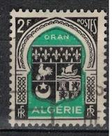 ALGERIE        N°  YVERT    259        OBLITERE       ( O   2/44 ) - Algérie (1924-1962)