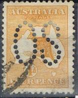 DO 7424  AUSTRALIË  GESTEMPELD  YVERT NR DIENST D6A ZIE SCAN - Service