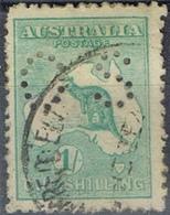 DO 7428  AUSTRALIË  GESTEMPELD  YVERT NR DIENST D10B ZIE SCAN - Service