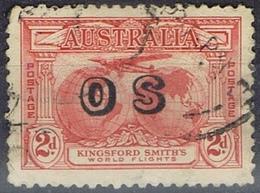 DO 7429  AUSTRALIË  GESTEMPELD  YVERT NR DIENST D60 ZIE SCAN - Service