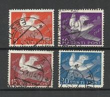 Estland Estonia 1940 Michel 160 - 163 O - Estonie
