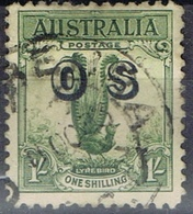 DO 7430  AUSTRALIË  GESTEMPELD  YVERT NR DIENST D62 ZIE SCAN - Service