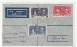 British Solomon - FDC   Incoronamento De George VI - Francobolli