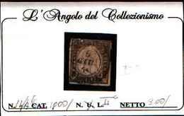 90846) SARDEGNA- 10 Centesimi Quarta Emissione -N.14 Af-USATO - Sardegna