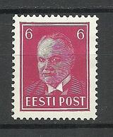 Estland Estonia 1936 Michel 116 MNH - Estonie