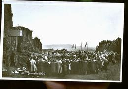 BIGVELLIR 1930 PHOTO CARTE CEREMONIE MILITAIRE                  JLM - Islande