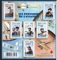 France 2010 Bloc Feuillet N° F4504 Neuf Aviation La Croix Rouge Au Prix De La Poste - Blocs & Feuillets