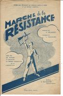Marche De La Résistance - A. Delannoy & L. Tordeurs / Edt R. DE SUTTER - PECQ LEZ TOURNAI - Musique & Instruments