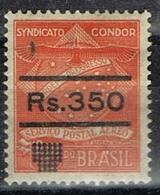 DO 7434 BRAZILIË  SCHARNIER  YVERT NR 23 COSIP CONDOR ZIE SCAN - Brésil