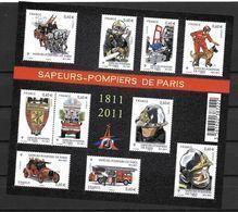 France 2011 Bloc Feuillet F4582 Neuf Luxe. Sapeurs Pompiers De Paris à La Faciale - Blocs & Feuillets