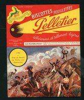 """BUVARD:  BISCOTTES FEUILLETÉES PELLETIER  - ROMAINVILLE - """"1792 VALMY"""" - Biscottes"""