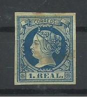 ESPAÑA EDIFIL 55 - 1850-68 Kingdom: Isabella II