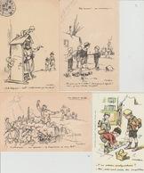 19 / 2 / 207  - 4  CP  ENFANTS  ( SIGNÉS  POULBOT ) - Poulbot, F.