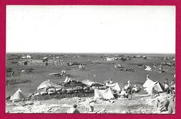 Carte Photo Syrie - Année 1925 - Camp Au Djebel Druze - Syrie