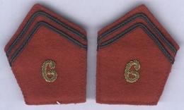 Pattes De Col Du 6e Régiment D'Artillerie - Stoffabzeichen