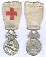 Médaille De La Société Française De Secours Aux Blessés Militaire - 1864 /1866 - Matriculée - Médailles & Décorations