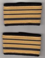 Manchons D'Epaulettes De Commandant - Uniforms