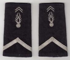 Manchons D'Epaulettes De Maréchal Des Logis De Gendarmerie - Police & Gendarmerie