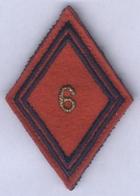 Insigne Losange De Bras Du 6e Régiment D'Artillerie - Patches