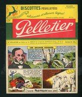 """BUVARD:  BISCOTTES FEUILLETÉES PELLETIER  - ROMAINVILLE - """" PASTEUR """" - Biscottes"""