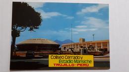 Trujillo Peru' Stadium Postcard Cartolina Stadio Stadion AK Carte Postale CP Stade Estadio - Calcio