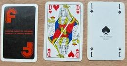 JEU DE 52 CARTES ET 3 JOKER SANS ETUI FEDERATION FRANCAISE DU CARTONNAGE / MADE IN TUHRNHOUT BELGIUM - Cartes à Jouer Classiques