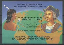 BURKINA FASO YVERT H/B 42    MNH  ** - Burkina Faso (1984-...)