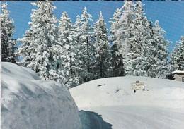 73-----Sur La Route De VALLOIRE à SAINT-MICHEL-DE-MAURIENNE--le Col Du Télégraphe Sous La Neige--voir 2 Scans - Saint Michel De Maurienne