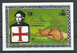 DOMINICA YVERT H/B 206    MNH  ** - Dominica (1978-...)