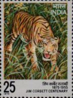 USED STAMPS India - The 100th Anniversary Of The Birth Of Jim Corbett -  1975 - India